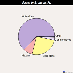 Bronson races chart