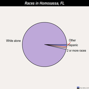 Homosassa races chart
