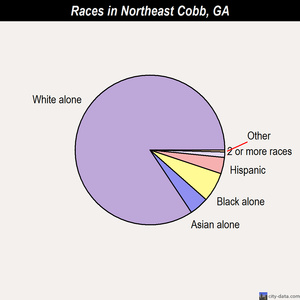 Northeast Cobb races chart