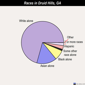 Druid Hills races chart