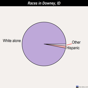 Downey races chart