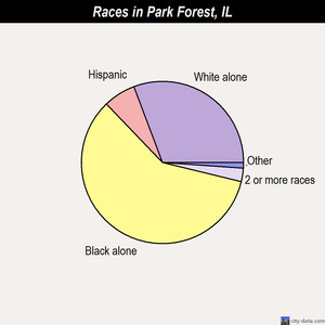 Park Forest races chart