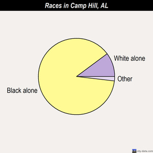 Camp Hill races chart