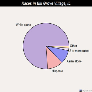 Elk Grove Village races chart