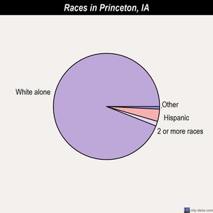 Princeton races chart