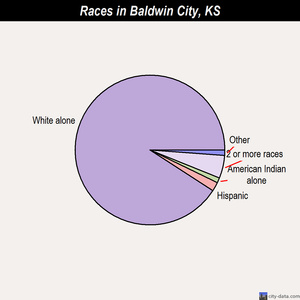Baldwin City races chart