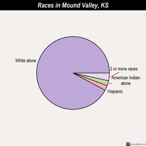 Mound Valley races chart