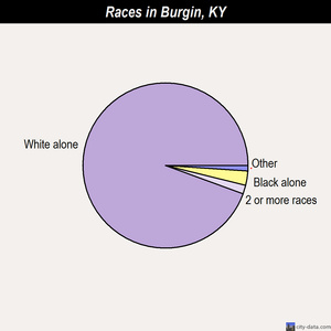 Burgin races chart