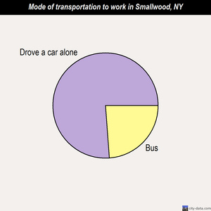 Smallwood mode of transportation to work chart