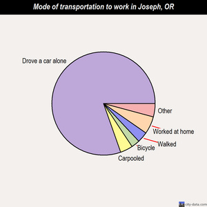 Joseph mode of transportation to work chart