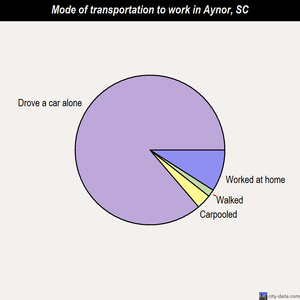 Aynor mode of transportation to work chart
