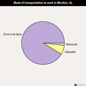 Moulton mode of transportation to work chart