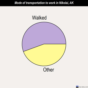Nikolai mode of transportation to work chart