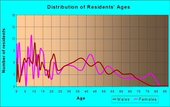 Age and Sex of Residents in Southern Comfort Homes in Tampa, FL