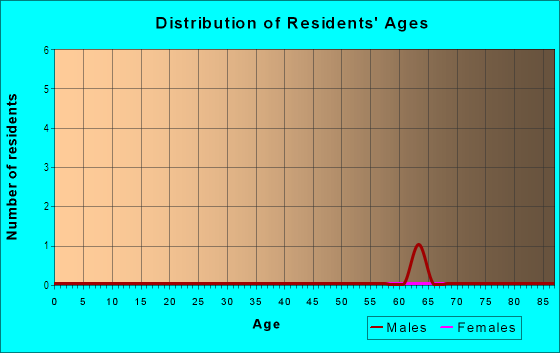 Age and Sex of Residents in Hidden Ravines in Birmingham, MI