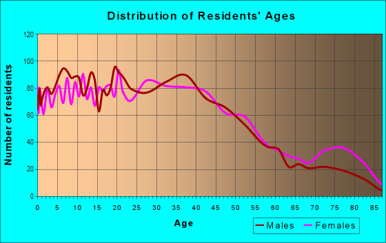 Age and Sex of Residents in Amboy Avenue in Perth Amboy, NJ