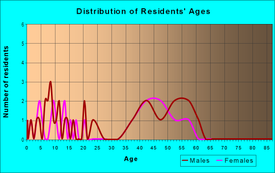 Age and Sex of Residents in Pleasant Point in Norfolk, VA