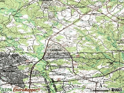 Crofton topographic map