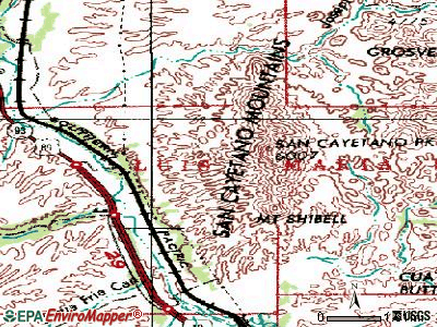 Rio Rico Northeast topographic map