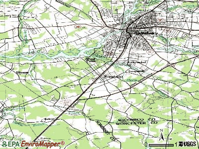 Fruitland topographic map