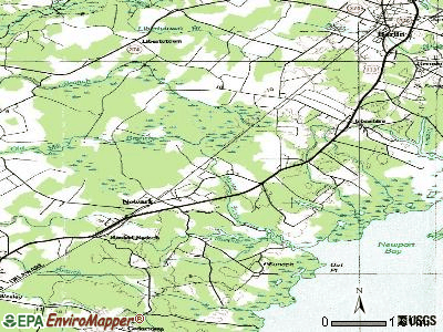 Newark topographic map