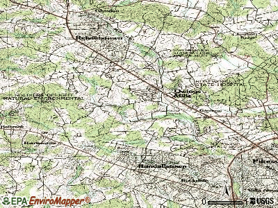 Owings Mills topographic map