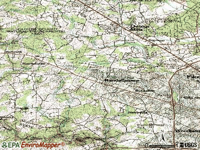 Randallstown topographic map