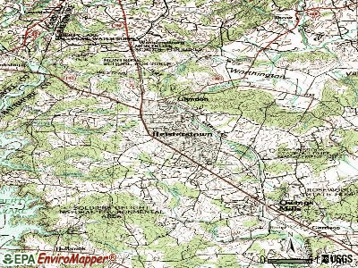 Reisterstown topographic map