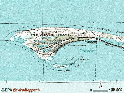 Provincetown topographic map