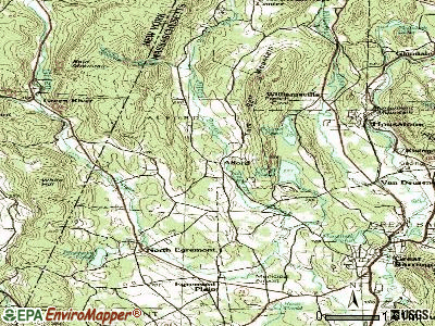 Alford topographic map