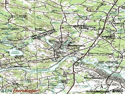 Amesbury topographic map