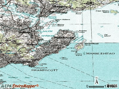 Marblehead topographic map