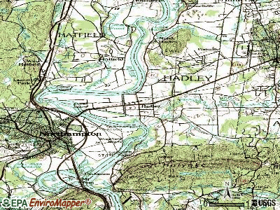 Hadley topographic map