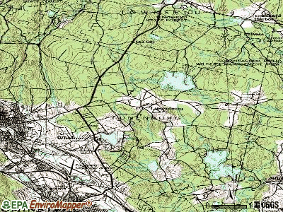 Lunenburg topographic map