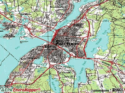 Fall River topographic map
