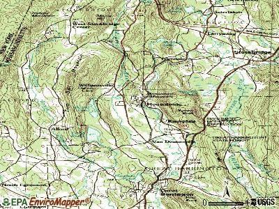 Housatonic topographic map
