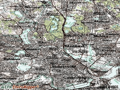 Medford topographic map
