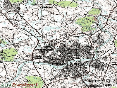 Methuen topographic map