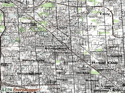 Blissfield topographic map