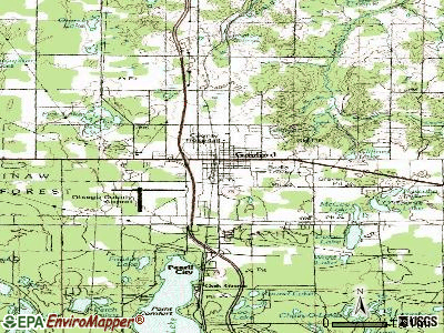 Gaylord topographic map