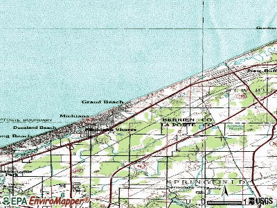 Grand Haven topographic map