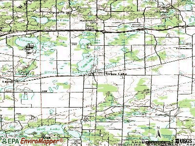 Grass Lake topographic map