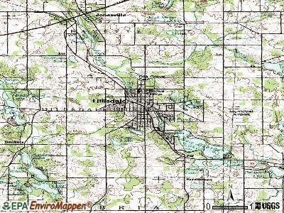 Hillsdale topographic map