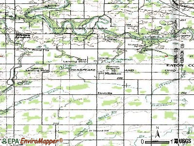 Mulliken topographic map