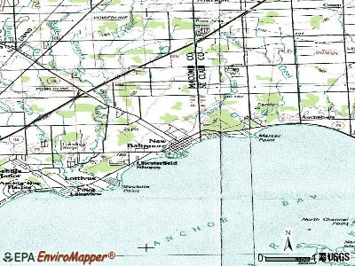 Newaygo topographic map