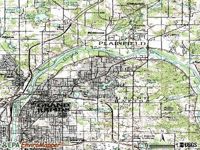 Northville topographic map