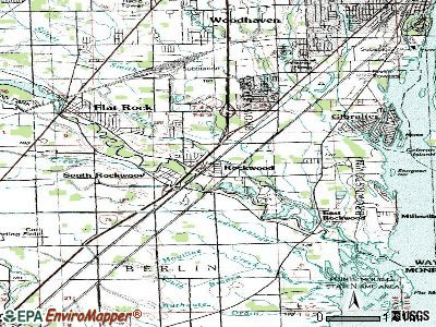 Rockwood topographic map