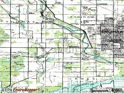 Shorewood-Tower Hills-Harbert topographic map