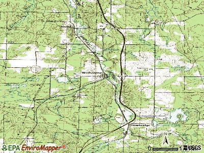 Wolverine topographic map