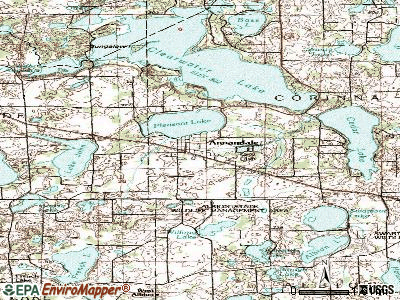 Annandale topographic map